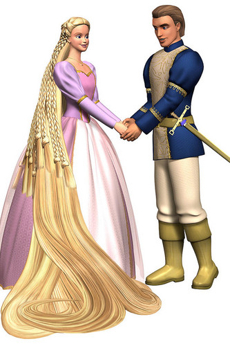 Prince Stefan and Rapunzel