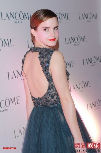 Promoting Lancôme in Hong Kong - December 7, 2011