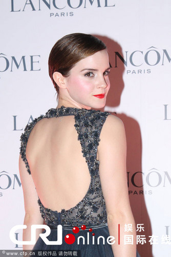 Promoting Lancôme in Hong Kong - December 7, 2011