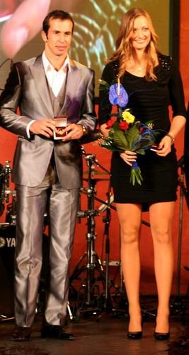 Radek Stepanek and Petra Kvitova