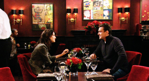 Robin Scherbatsky wallpaper containing a bistro, a restaurant, and a brasserie entitled Robin<3