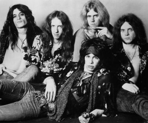 Aerosmith Hintergrund titled S.T.