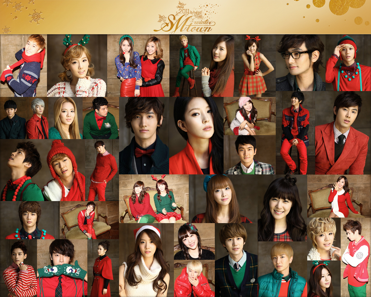 SNSD - SMTown 2011 Winter Album