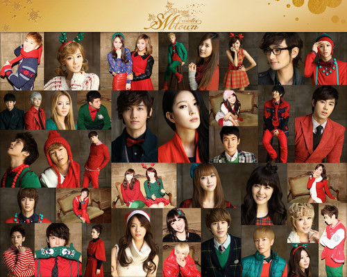 S.M.Entertainment wallpaper titled SNSD - SMTown 2011 Winter Album