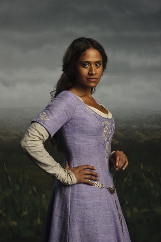 Bradley James Girlfriend Angel Coulby Merlin on BBC images C...