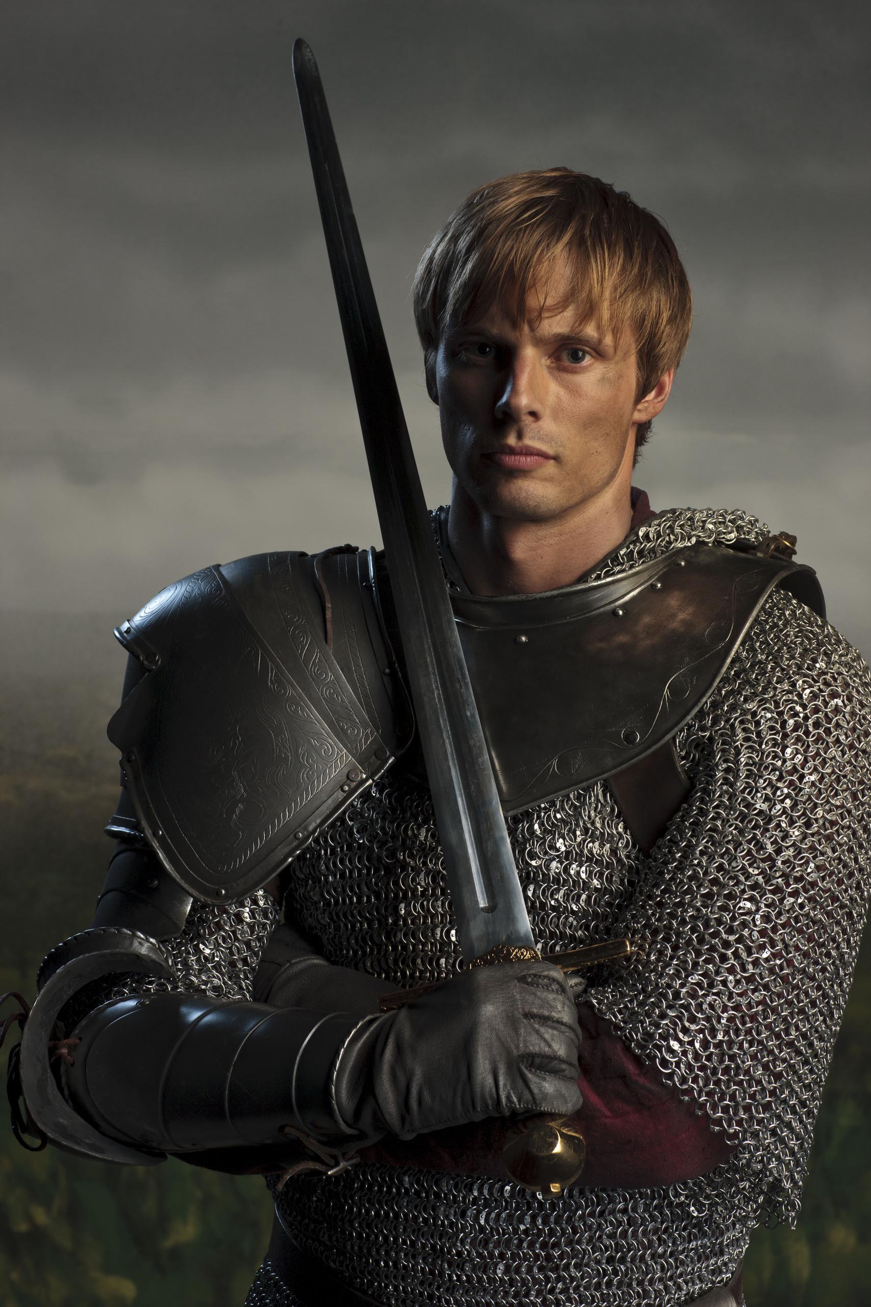 Merlin on BBC Cast Promo Photos- ArthurKing Arthur And Merlin