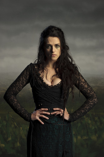 Merlin on BBC wallpaper titled Cast Promo Photos-Morgana