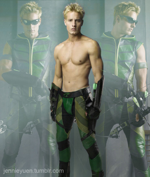 Green Arrow Shirtless Green Arrow