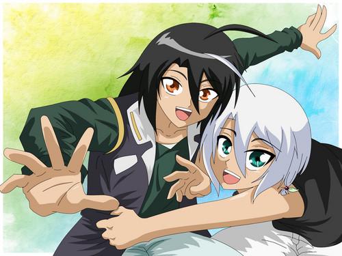 Shun and a girl