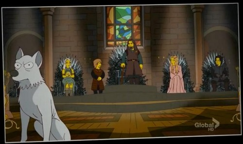 Simpsonized version of Game of Thrones
