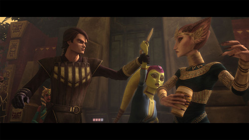 ster Wars: Clone Wars achtergrond titled Slaves of the Republic