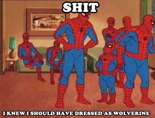 Spiderman Funny Comics