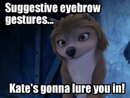 Suggestive eyebrows (Improved some!)
