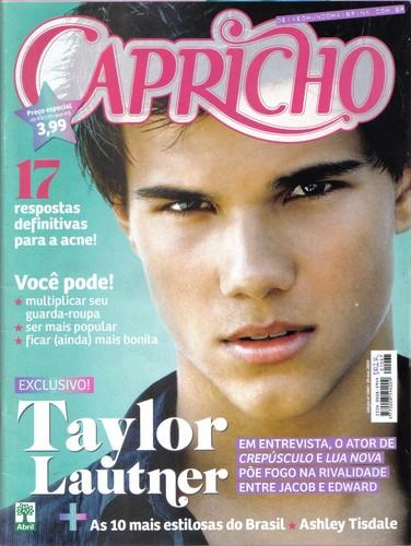 Taylor Lautner ( Magazine- Capricho- BR )
