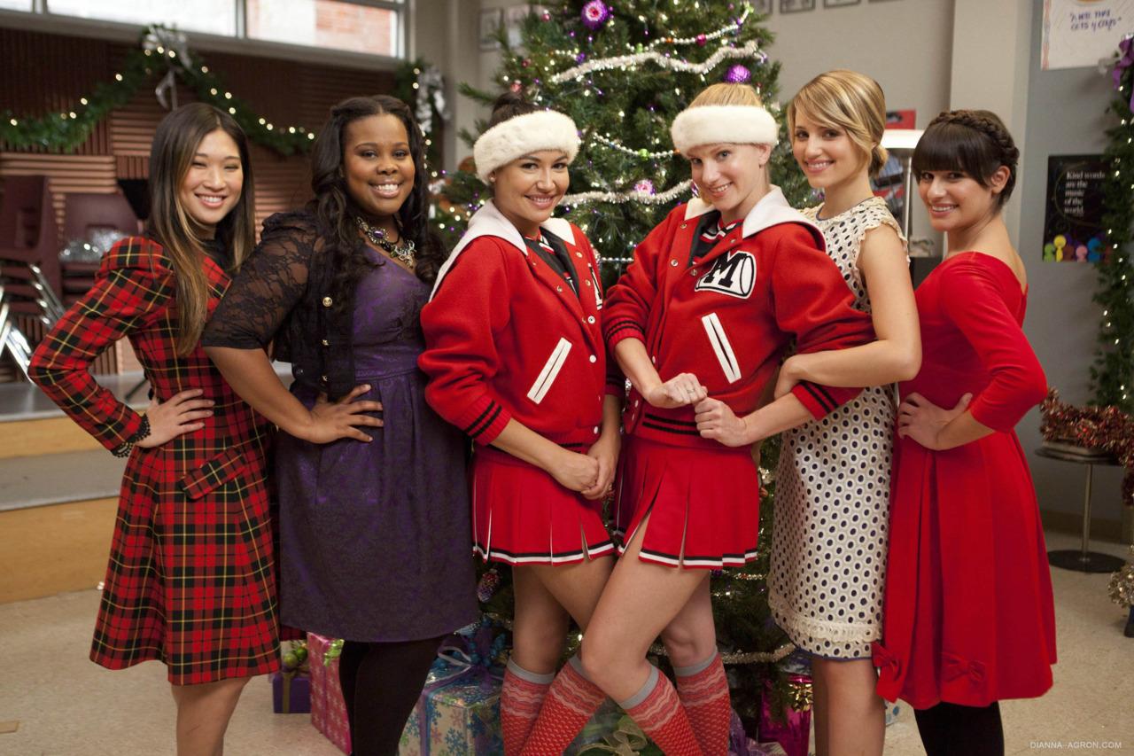 Glee Girls In Panties Behind The Scenes Video