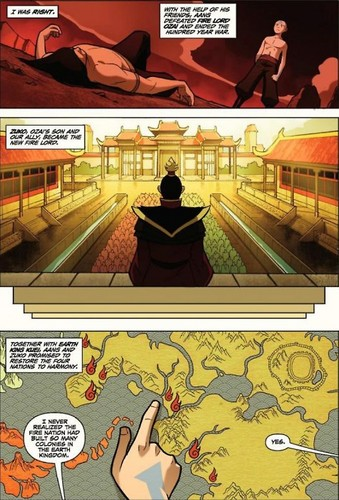 Avatar: The Last Airbender achtergrond containing anime titled The Promise part 1