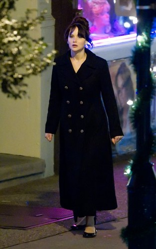 The Silver Linings Playbook - On set (November 18, 2011)