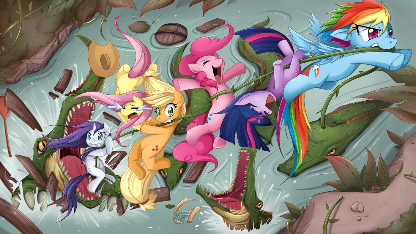 There Are Alligators In The Lake My Little Pony Friendship Is Magic