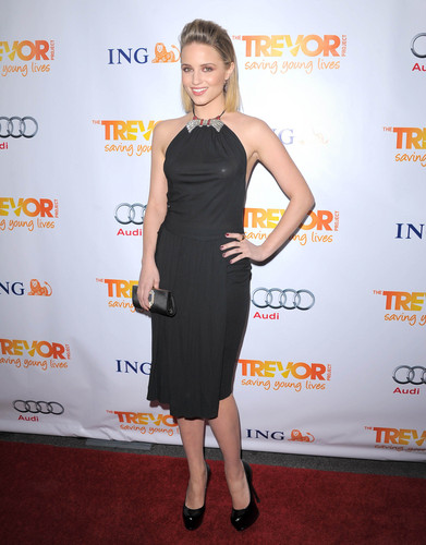 Dianna Agron wallpaper called Trevor Live! at The Hollywood Palladium