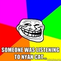 Trollin' Nyan Cat