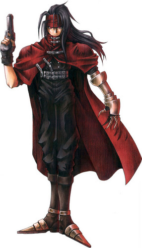 Vincent Valentine वॉलपेपर possibly containing a surcoat, a hip boot, and an outerwear entitled Vincent Valentine