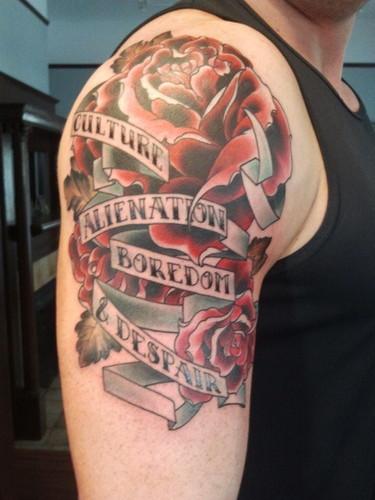 Wade Barrett's new Tattoo