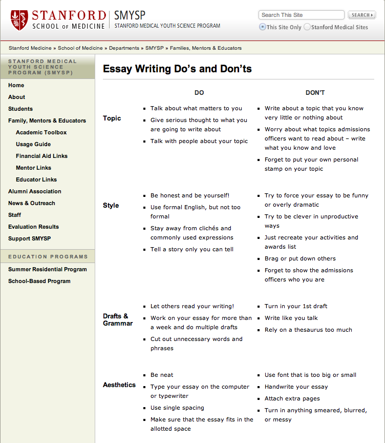 Tips On Writing Essay