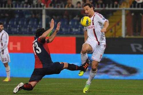 Z. Ibrahimovic (Genoa - AC Milan)