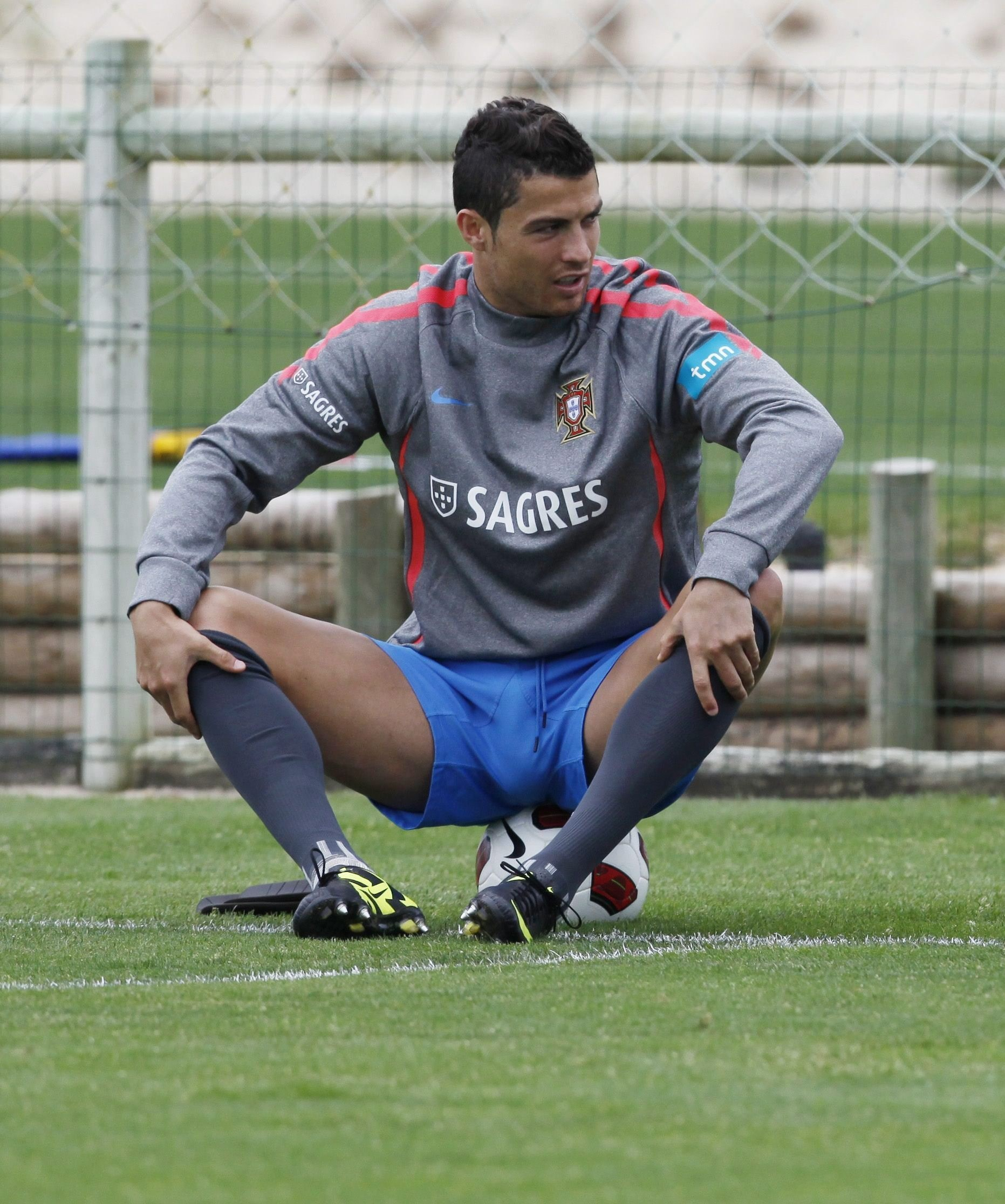 cristiano big bulge