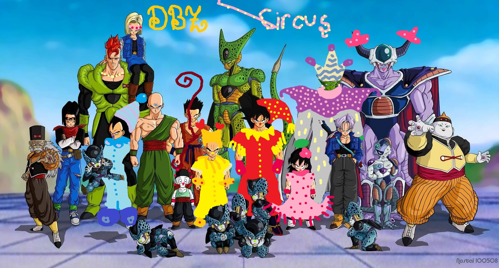 dragon ball z kai images dbz circus hd wallpaper and background