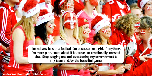 football confessions