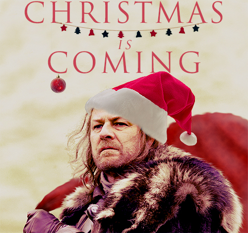 Christmas is coming game of thrones fan art 27452205 for Christmas gifts for game of thrones fans