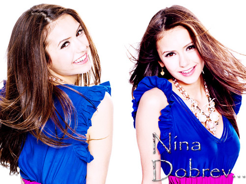 ♣♣Nina by DaVe♣♣ - nina-dobrev Wallpaper