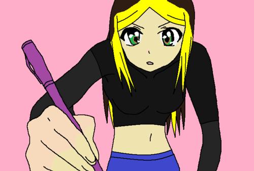 kyandra in human version