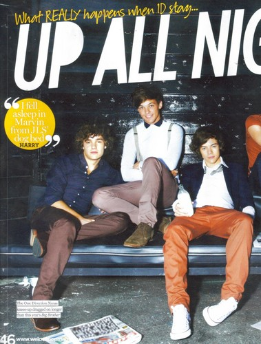 1D in 'We ♥ Pop' magazine!