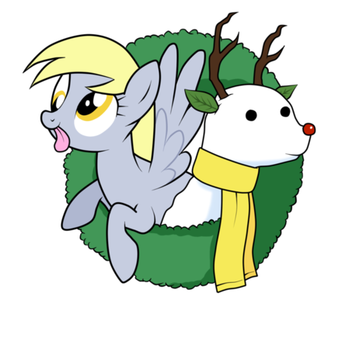 A Derpy Hooves Wreath