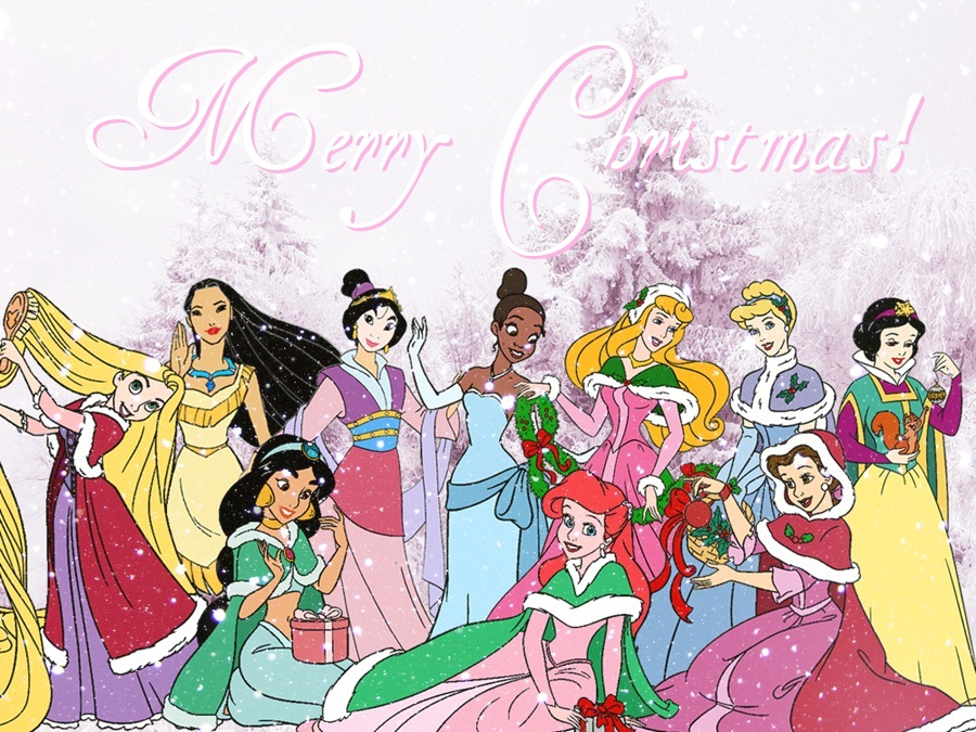 disney princess images a very royal christmas hd wallpaper and background photos