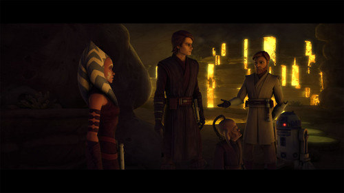 Ahsoka,Obi-wan and Anakin