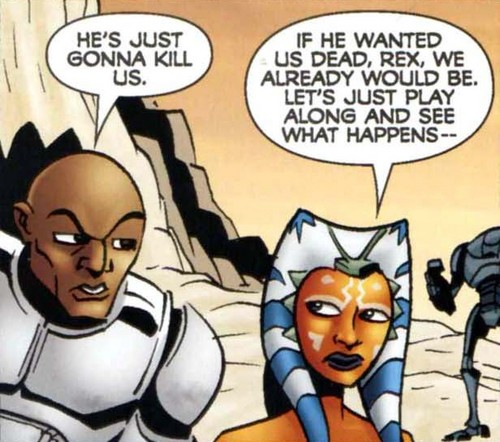 Ahsoka and Rex