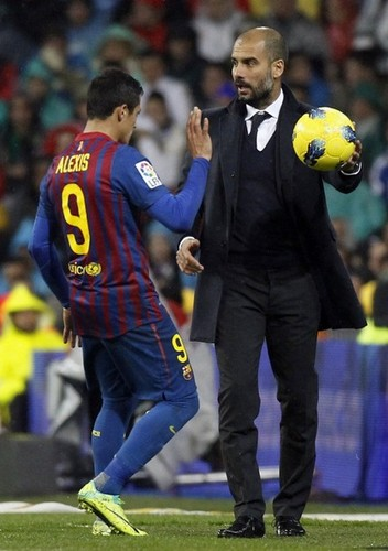 Alexis Sanchez - FC Barcelona (3) v Real Madrid (1) - La Liga