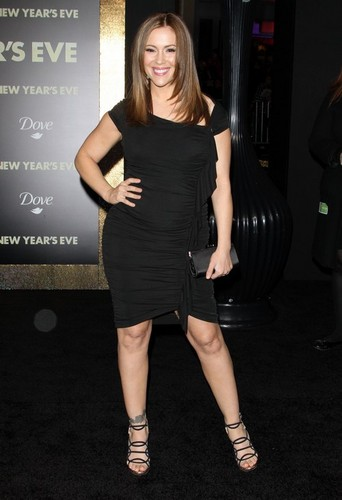 "Alyssa - ""New Years Eve"" Los Angeles Premiere - December 5. 2011"