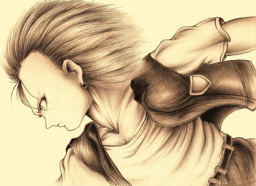 Android 18 - dragon-ball-z Fan Art