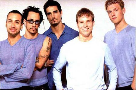 The Backstreet Boys 바탕화면 possibly with a leisure wear, a workwear, and a portrait titled Backstreet Boys.