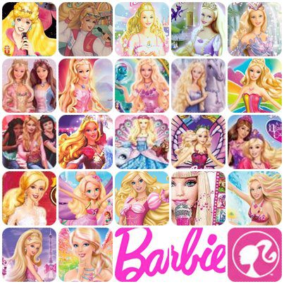 les films Barbie
