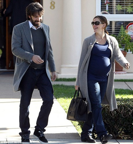 Ben and Jen leave parent teacher conference at Violet's school