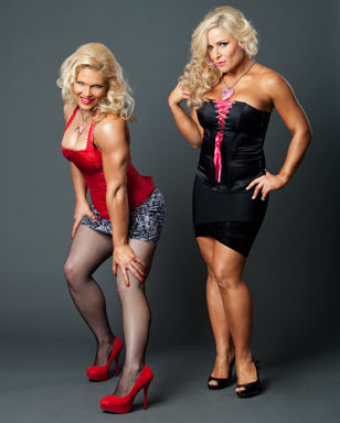 beth phoenix wallpaper possibly with a leotard, a bustier, and a maillot titled Beth Phoenix and Natalya