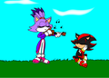 Blaze plays to shadow