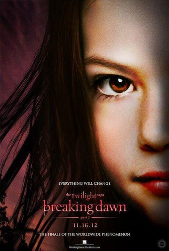 Breaking Dawn Part 2 fanmade poster