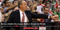 COACH THAD MATTA'S 300TH VICTORY - ohio-state-university-basketball photo