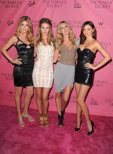 Candice & Rosie at Victoria's Secret 5th Annual What Is Sexy Event